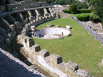 Baiae - Thermal baths of the sector of Sosandra