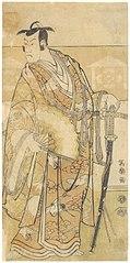 Bandō Hikosaburō III as Kudōzaemon Suketsune