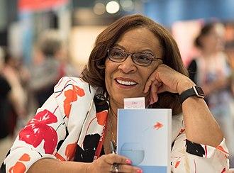 Sharon Draper - Draper at BookExpo America in 2018