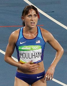 Die Olympiaelfte Shelby Houlihan aus den USA