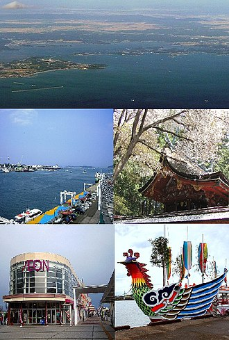 Shiogama - Urato islands Shiogama Port, Shiogama Shrine Aeon Town Shiogama, Shiogama Port Festival