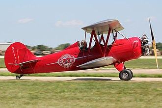 Fisher Celebrity - Fisher Celebrity powered by a radial engine