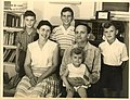 Shmuel and Chava Ben Artzi and four children 1960.jpg