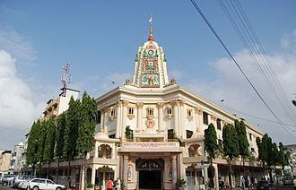 Hinduism in Kenya - SCSS Swaminarayan Temple in Mombasa.