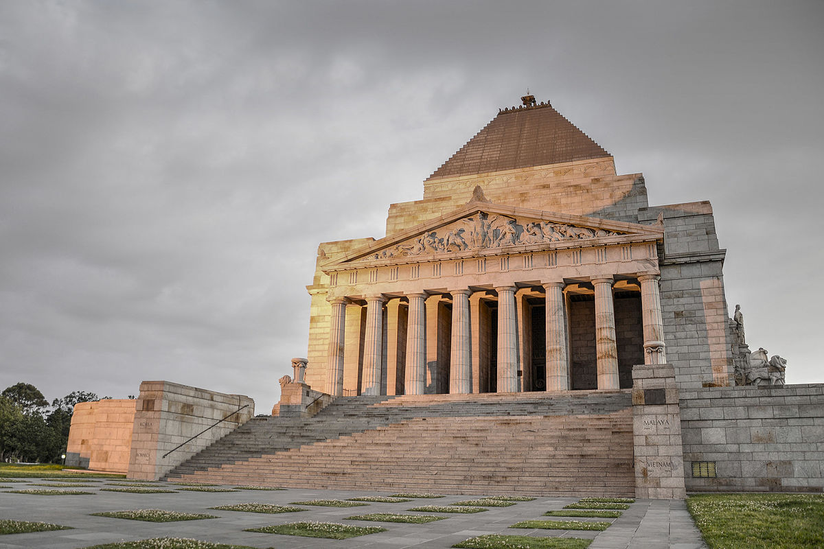 Image result for Shrine of Remembrance melbourne