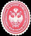 Siegelmarke Armenrath des XX. Wiener Gemeindebezirkes Brigittenau W0317999.jpg