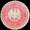Siegelmarke Königliche Eisenbahn Direction Erfurt - Betriebs - Amt Berlin W0219315.jpg