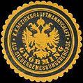 Siegelmarke K.K. Bezirkshauptmannschaft Gröbming W0320960.jpg