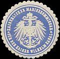 Siegelmarke K. Marinekommissar für den Kaiser Wilhelm Kanal W0357478.jpg