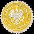 Siegelmarke Provinzial - Irren - Anstalt zu Leubus W0234037.jpg