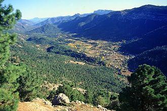 Sierras de Cazorla, Segura y Las Villas Natural Park - Image: Sierra Cazorla
