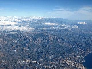 Sierra de Almijara Mountain range in Spain