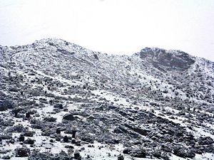Sierra La Culata National Park - Image: Sierra de La Culata nevada