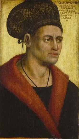 Sigismund, Duke of Bavaria - Sigismund of Bavaria, portrait by Jan Polack