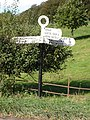 Signpost at Minchington Cross - geograph.org.uk - 266175.jpg