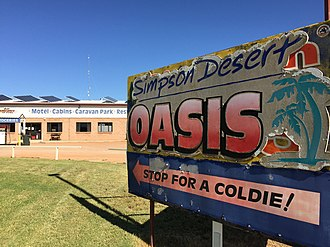 Bedourie, Queensland - Simpson Desert Oasis Roadhouse, 2016