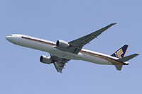 9V-SWG - B77W - Singapore Airlines