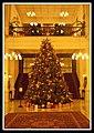 Singapore Raffles Hotel Christmas Tree-1 (6591404731).jpg