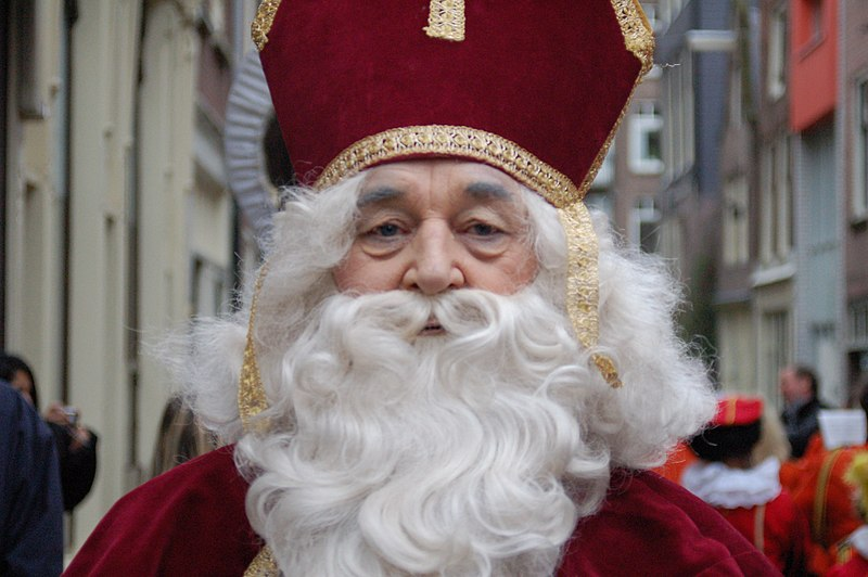 Sinterklaas na Holanda