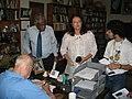 Sir Arthur C. Clarke with Professor V. K. Samaranayaka & Danese Cooper.jpg