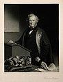 Sir William James Erasmus Wilson. Mezzotint by A. Scott, 187 Wellcome V0006647.jpg