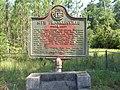 Site Franklinville historical marker.JPG