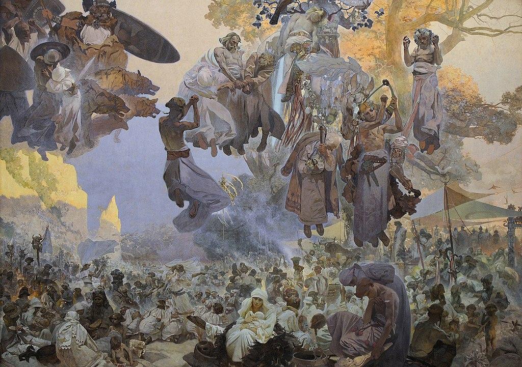Tableau d'Alfons Mucha