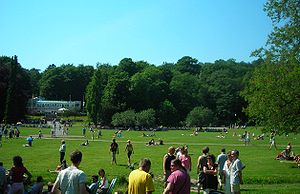 Way Out West (festival) - Slottsskogen, Gothenburg, where the festival is held