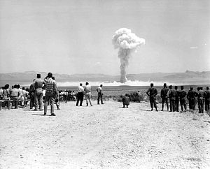 Operation Sunbeam - Image: Small Boy nuclear test 1962