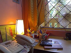 Nostalgia - Memories of pre-computer-era settings, such as this small office/home office containing no modern computer equipment, can inspire nostalgia.