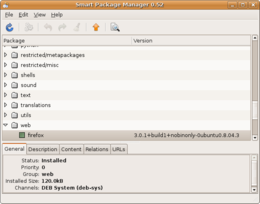 Smart Package Manager su Ubuntu