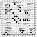 Smith (1908) The Game of Go Plate 13.png