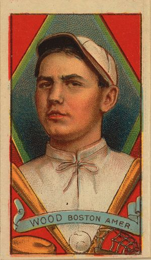 Smoky Joe Wood - Baseball card