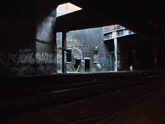 Snow Hill Tunnel (London) - Modern picture of Snow Hill Tunnel