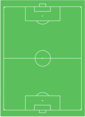 Vertical Soccer field template