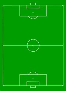 Schema per formazione calcio