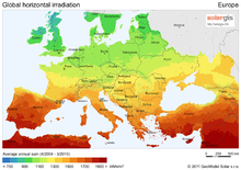 Insolation - Simple English Wikipedia, the free encyclopedia