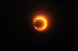 Solar annular eclipse of January 15, 2010 in Jinan, China.jpg