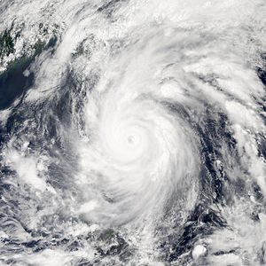 Timeline of the 2011 Pacific typhoon season - Typhoon Songda weakening as a Category 3 early on May 27