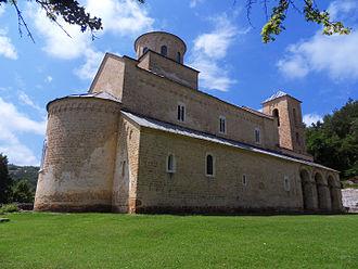 Sopoćani - Image: Sopocani monastery 2