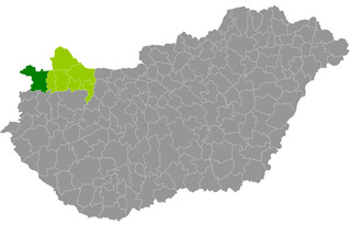 Sopron District Districts of Hungary in Győr-Moson-Sopron