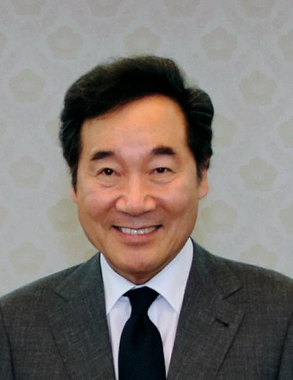 Lee Nak-yeon - Image: South Korean Prime Minister Lee 2017 (36854542136) (cropped)