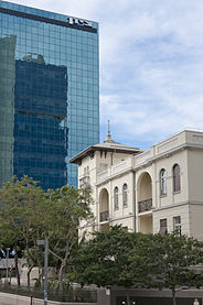 South side of the Russian Embessy House, Tel Aviv.jpg