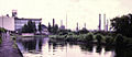 Southall Gasworks from canal 1973.jpg
