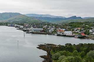 Brønnøysund Town in Northern Norway, Norway
