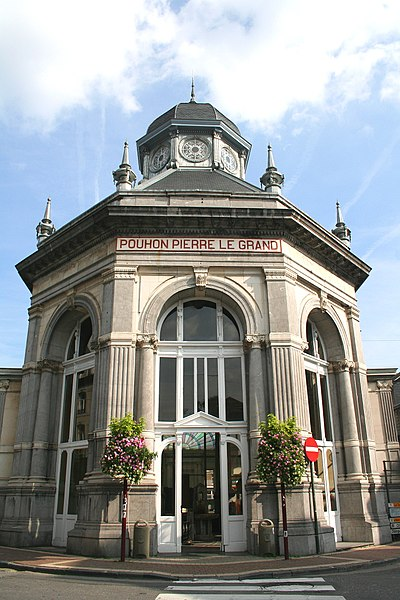 Spa  (Belgium), building of the Tzar Peter the Great's «Pouhon» (spring).