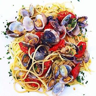 Spaghetti alle vongole - Spaghetti alle vongole