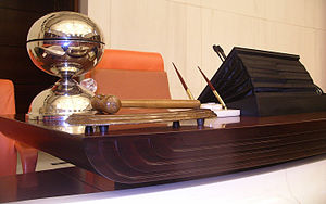 Speaker of the Grand National Assembly - The Speaker's chair in Parliament