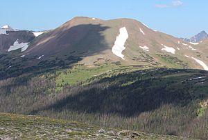 Specimen Mountain - Image: Specimen Mountain, RMNP