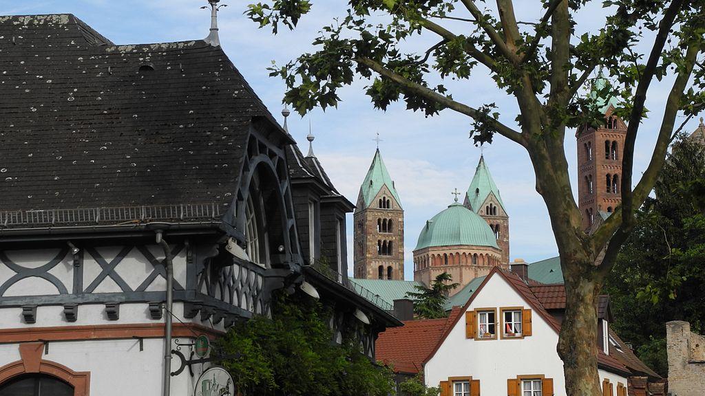 Speyer - Fischmarkt mit Kutscherhaus